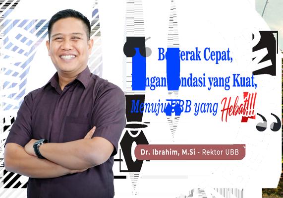 Foto Rektor UBB 2021